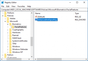 Enable Enhanced Anti-Spoofing for Windows Hello Face Authentication